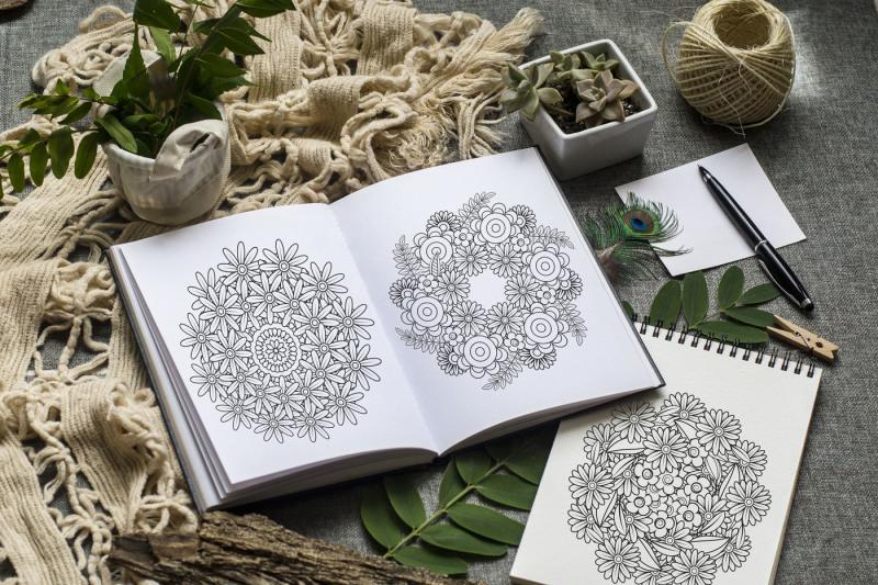 floral-mandalas-20-coloring-pages