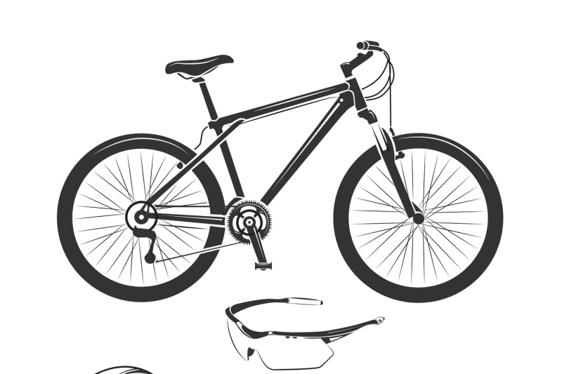 vector-elements-for-bicycle-or-bike-shop
