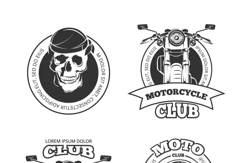 vintage-vector-motorcycle-or-motorbike-club-emblems