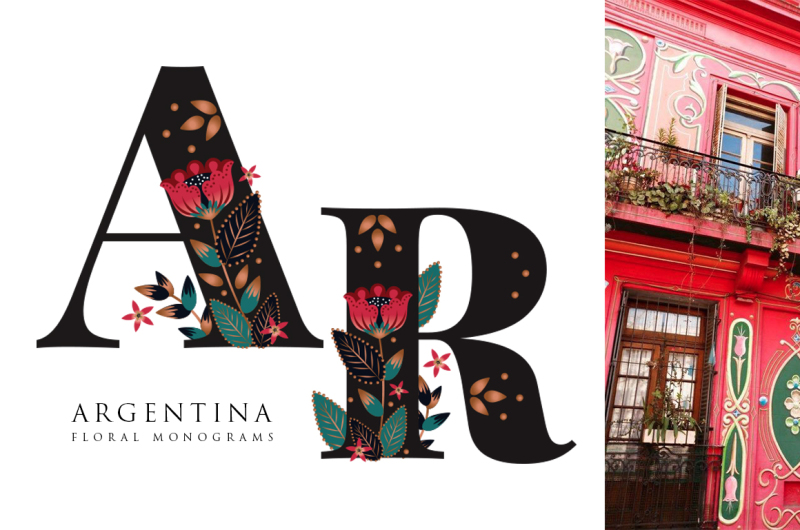argentina-floral-monograms