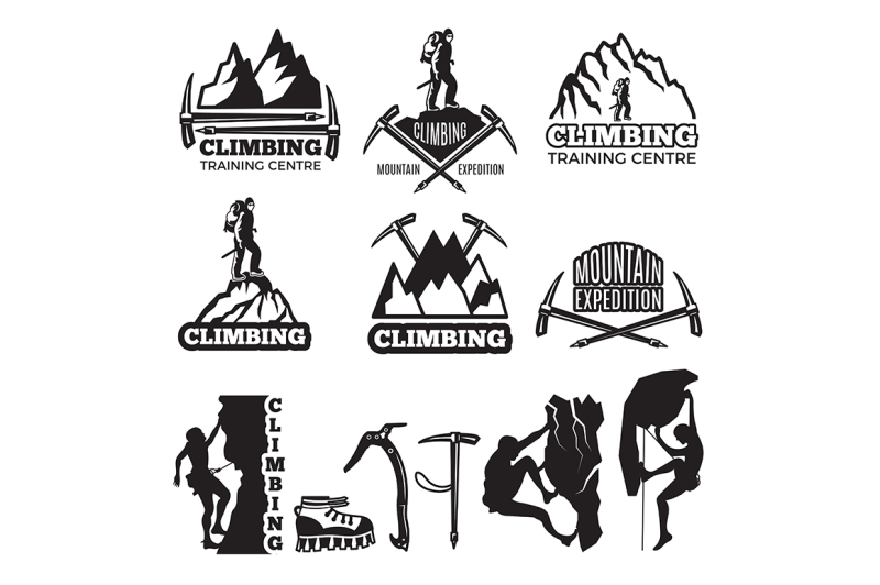 mountain-climbing-and-different-equipment