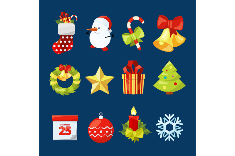 vector-collection-of-christmas-icons