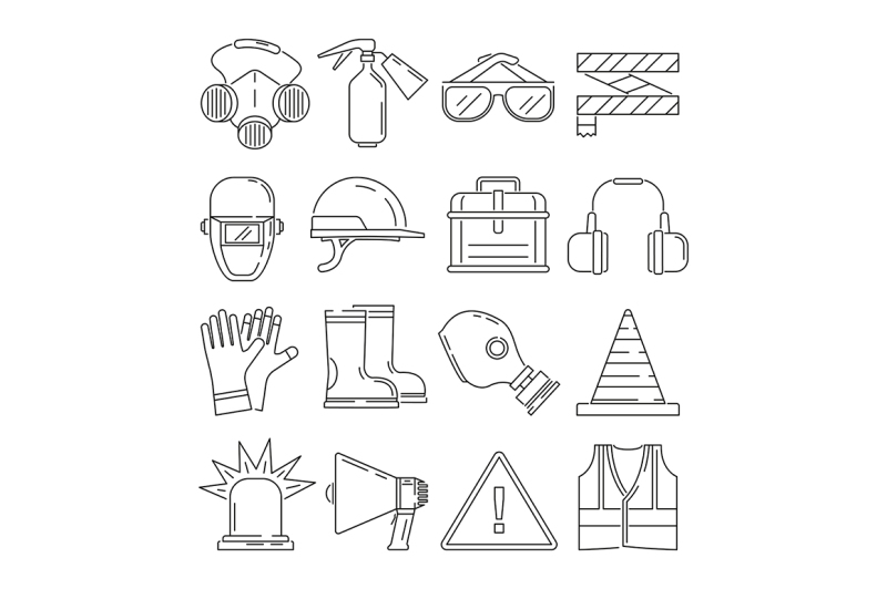 symbols-of-safety-work-protection-for-health-occupations