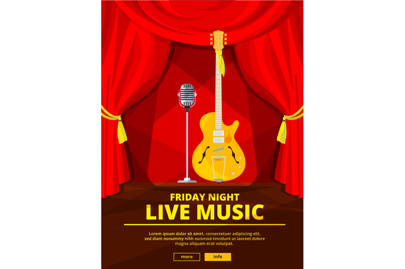poster-invitation-at-live-music-concert