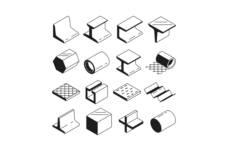 icons-set-in-monochrome-metallurgy-production