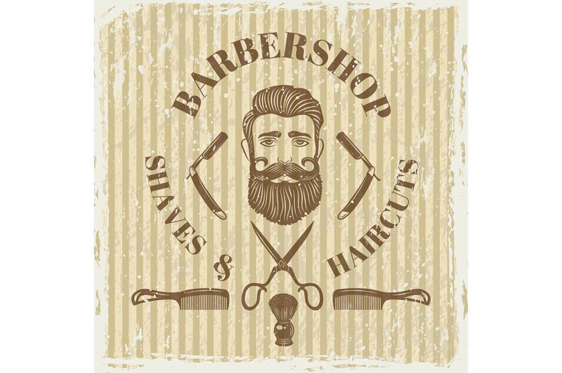 barber-shop-vintage-poster