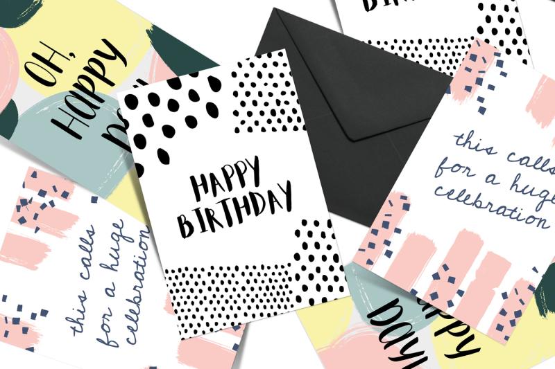 greeting-card-template-set