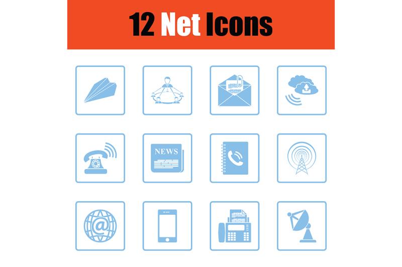 communication-icon-set