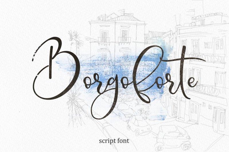 borgoforte-script-font