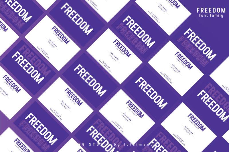 freedom-font-family