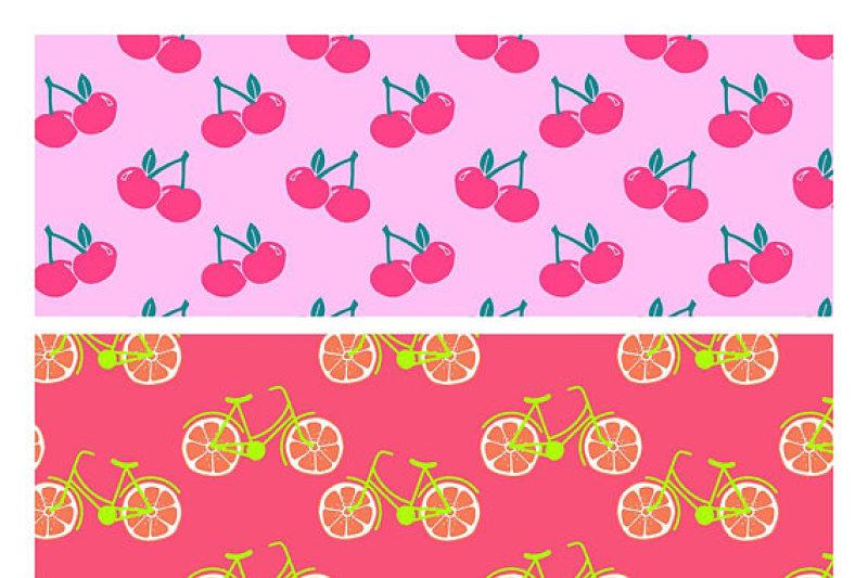 tropical-fruit-patterns