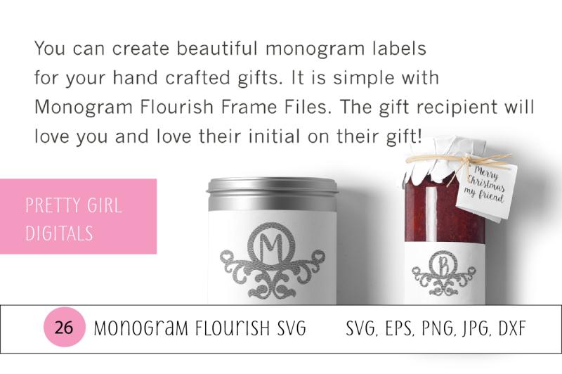 monogram-flourish-frame-alphabet-set