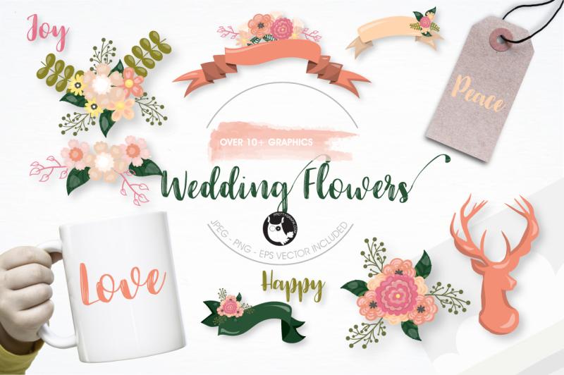 wedding-flowers-graphics-illustrations