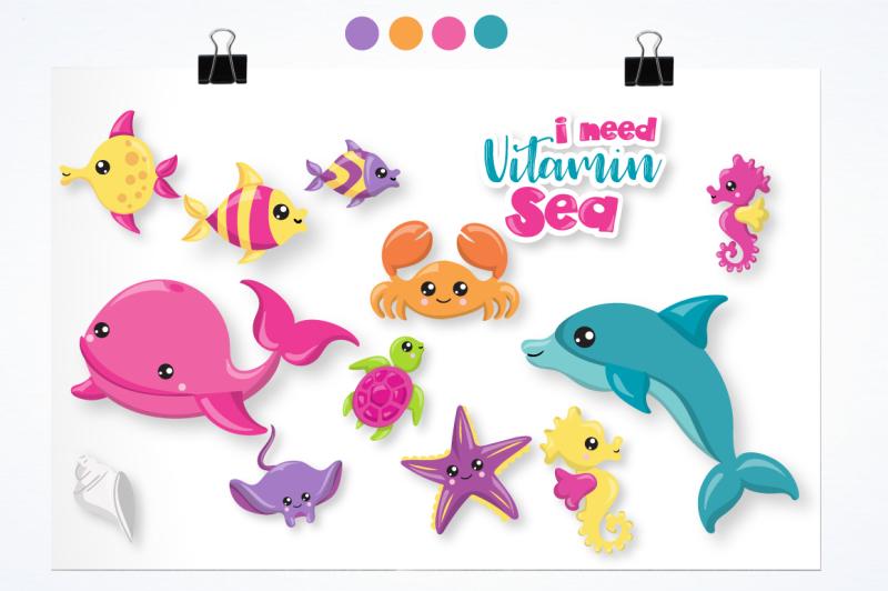 sea-animals-graphics-and-illustrations