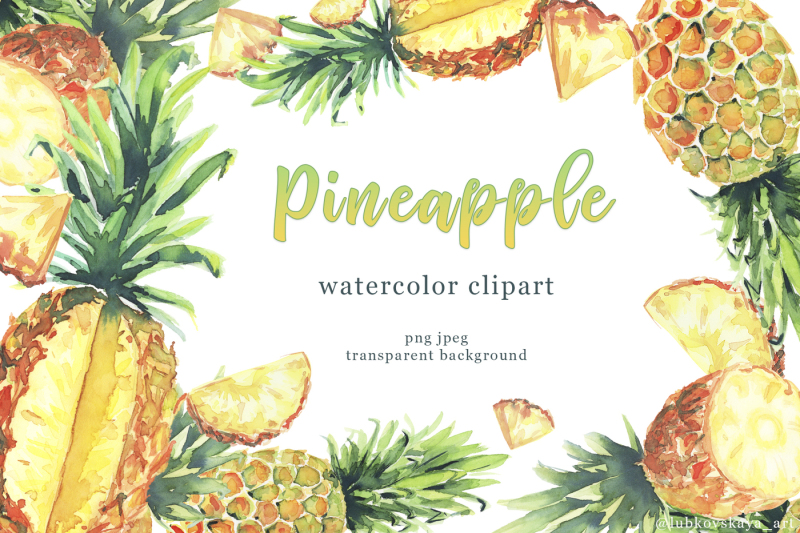watercolor-pineapple-clipart