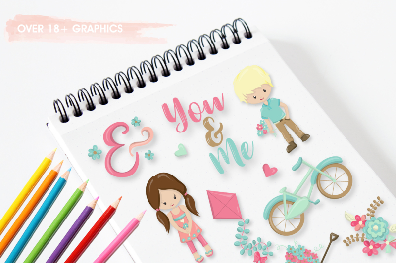 summer-kids-graphics-and-illustrations