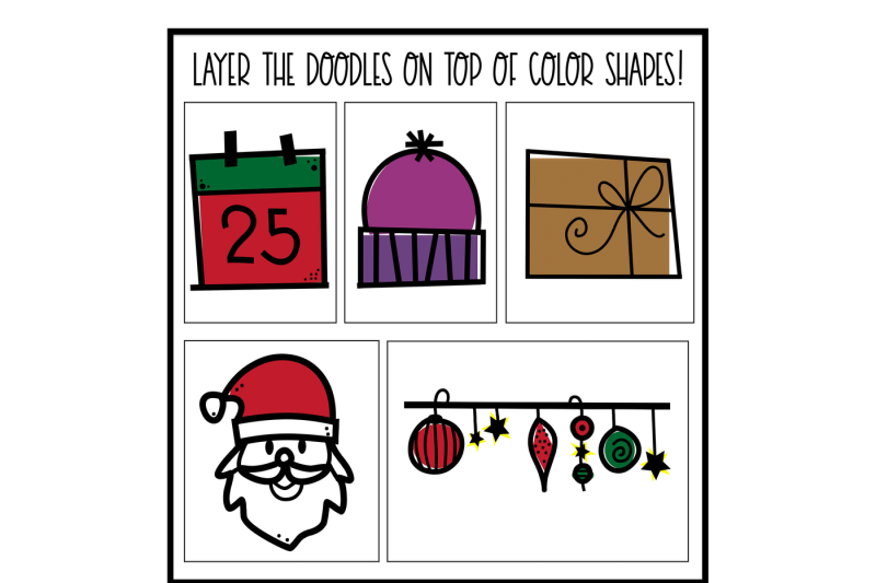 north-pole-a-christmas-winter-doodles-font