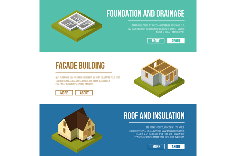industrial-illustrations-set-with-three-banners-of-building