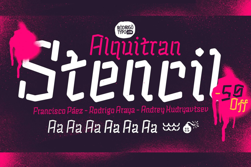 alquitran-stencil-regular-round