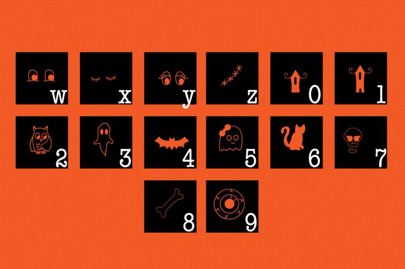 spooky-squad-halloween-dingbat-font