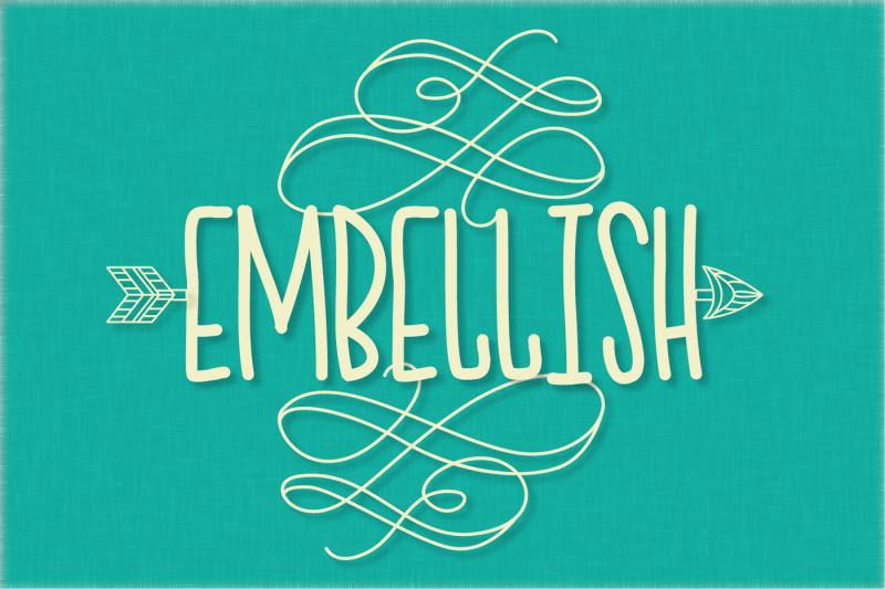 swooshy-bois-ornament-font
