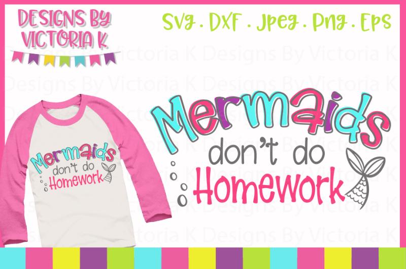 new-mermaid-in-school-cut-file-svg-dxf-png