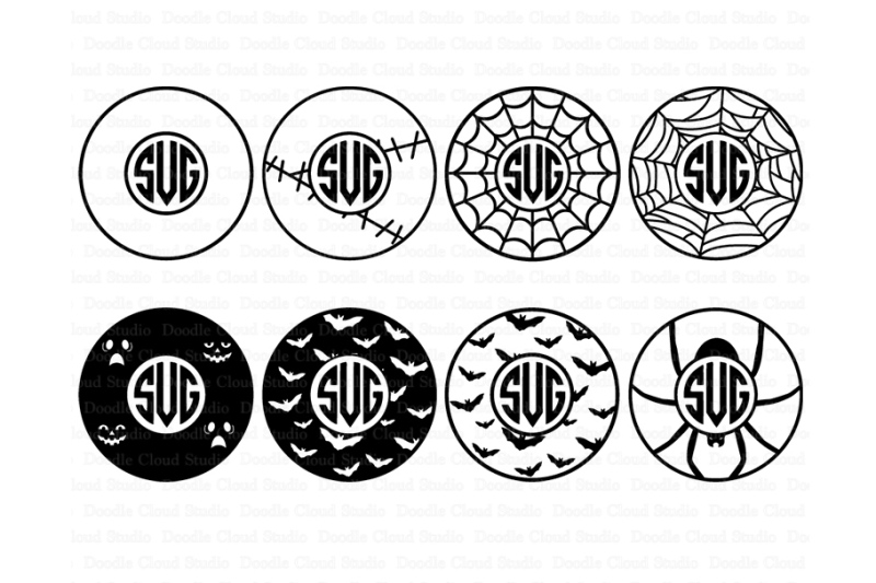 halloween-circle-halloween-monogram-frame-svg-files