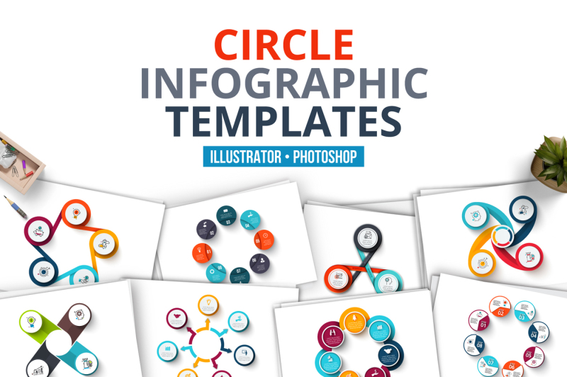 circle-infographic-templates