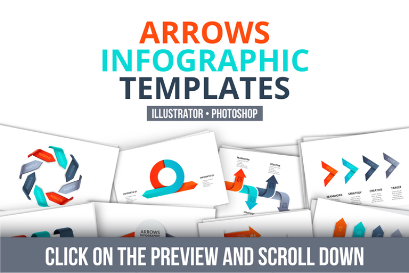 arrows-infographic-templates