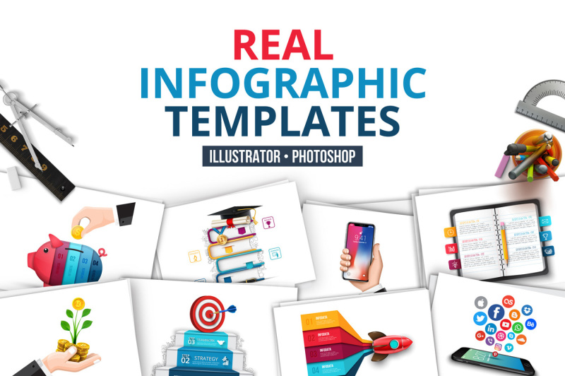 real-infographic-templates
