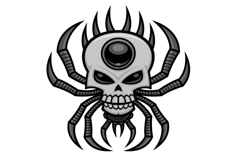 skull-spider