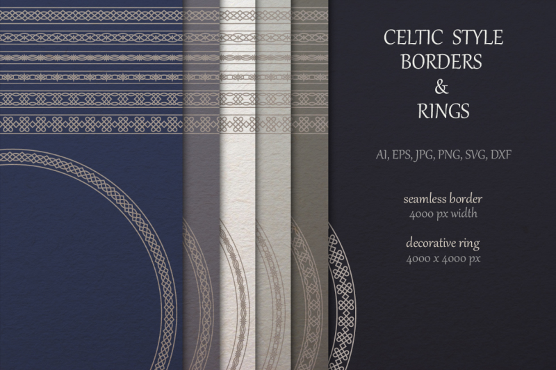 celtic-borders-and-rings-collection