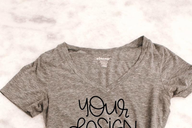 Free Women's T-Shirt Mock Up (PSD Mockups)