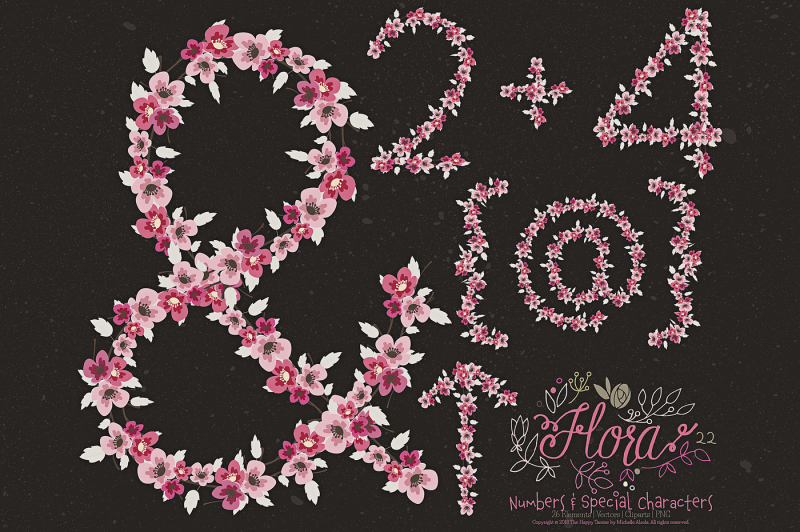 flower-numbers-amp-special-characters-clipart-amp-vector-ndash-flora-22