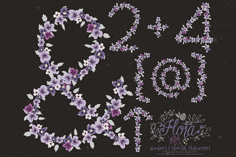 flower-numbers-amp-special-characters-clipart-amp-vector-ndash-flora-23