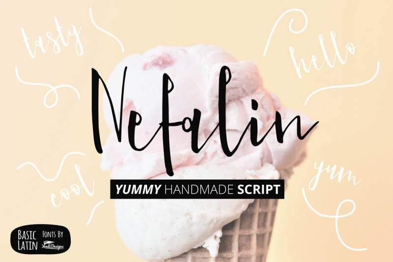 nefalin-yummy-script-font