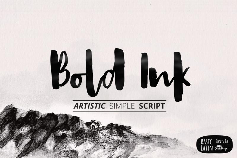 bold-ink-simple-script