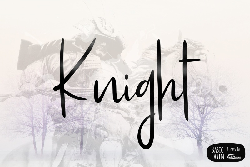 knight-simple-font