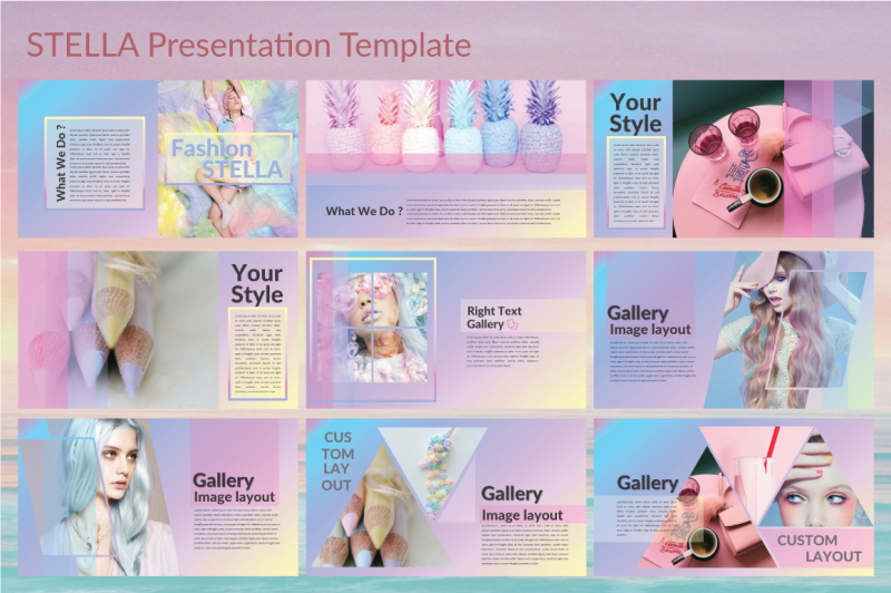 stella-keynote-template