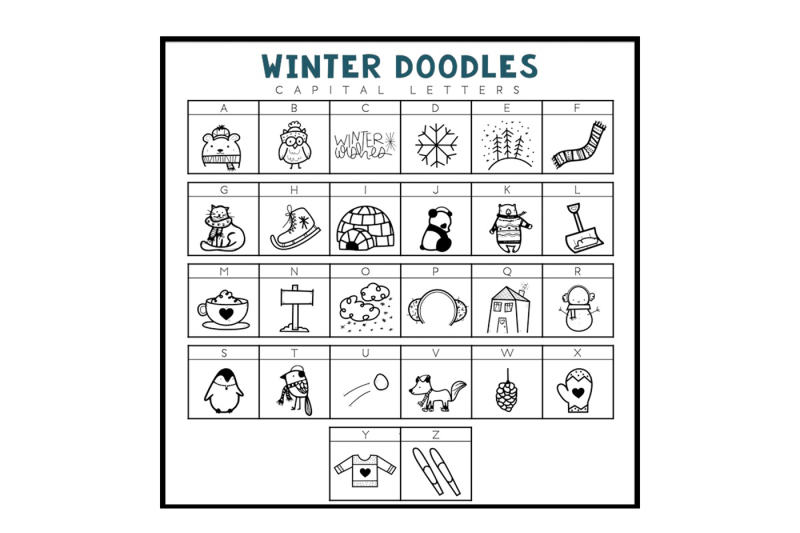 winter-wishes-a-winter-doodles-font