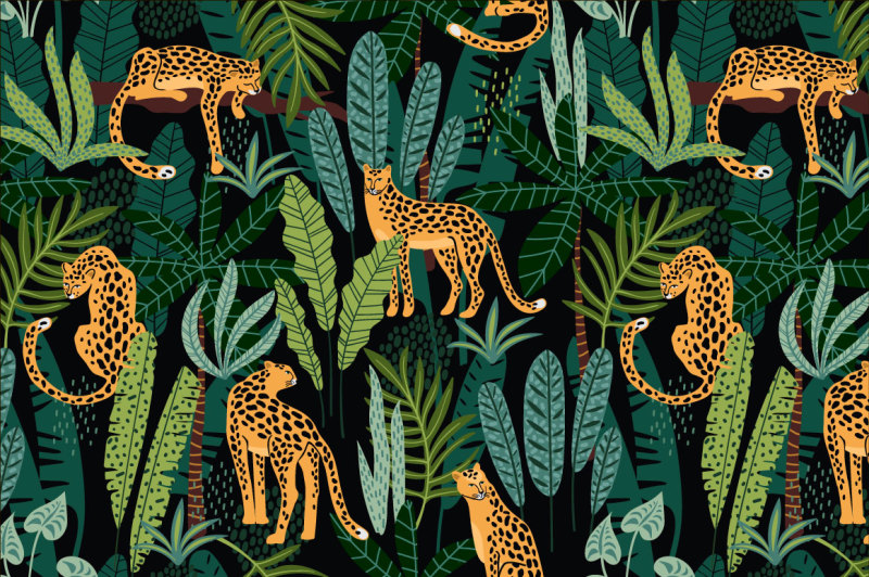 be-wild-8-seamless-patterns
