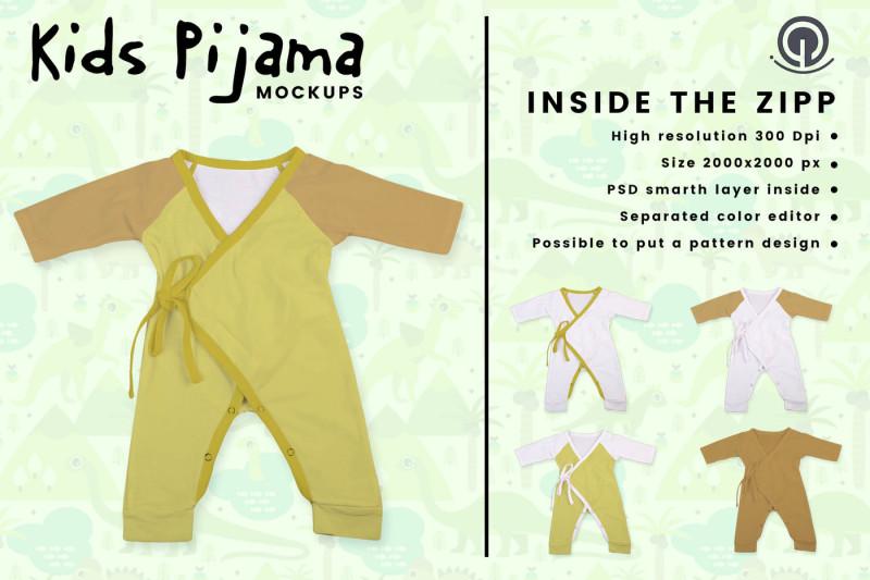kids-pijama-mockup