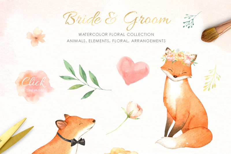 bride-and-groom-watercolor-clipart