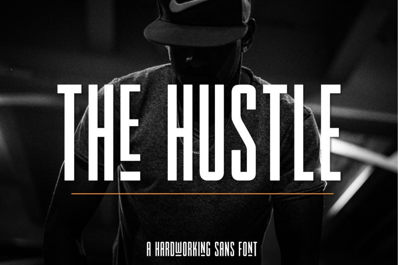 the-hustle-font