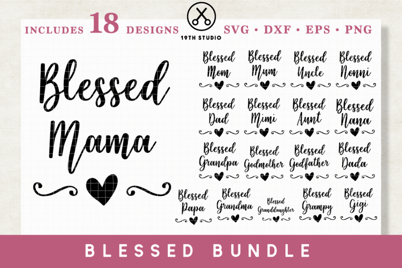 blessed-family-svg-bundle-svg-dxf-eps-png-m1