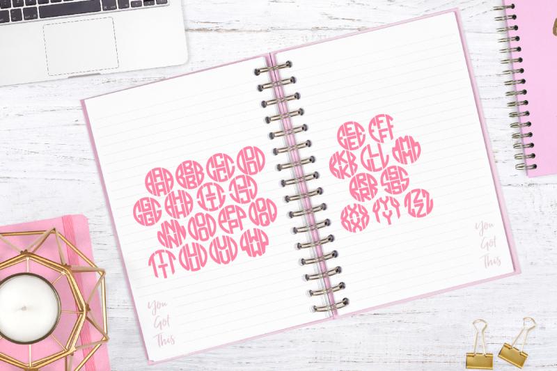 4 Letter Monogram Kit