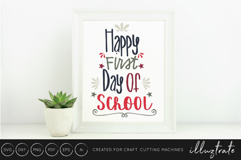 first-day-of-school-svg-dxf-png-cut-file