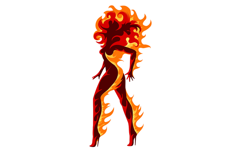 fiery-girl-illustration