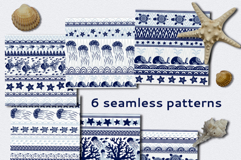 ocean-seamless-patterns