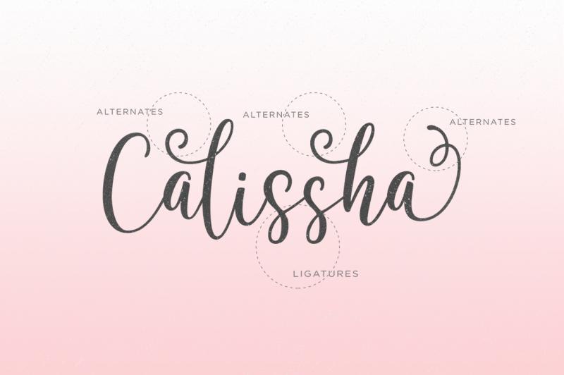 calissha-font-duo